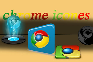 أيقونات لبرنامج قوقل كروم 2013 - icone google chrome