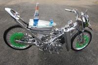 Modif FU Putih Silver