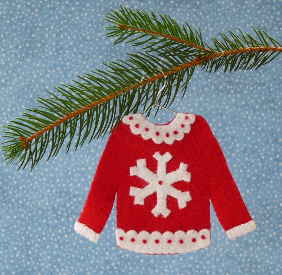 Snowflake christmas sweater
