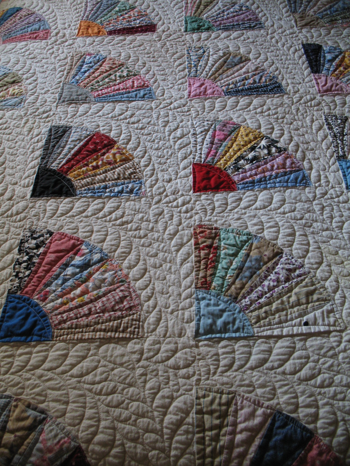 Pacific Patchworks: The 1930s Grandmother's Fan Quilt : grandmothers fan quilt - Adamdwight.com