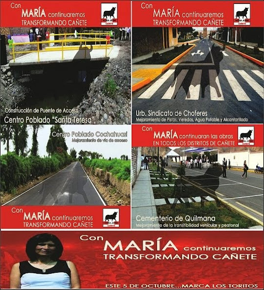 Maria Montoya 2015 -2018