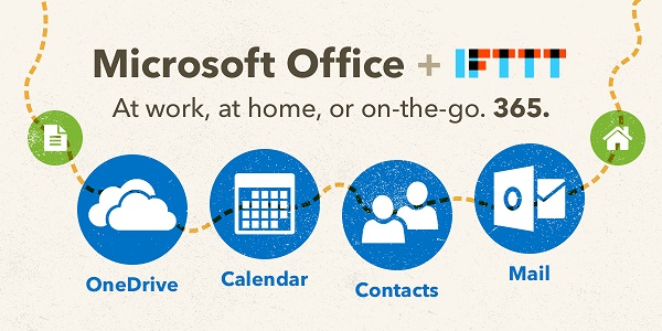 Microsoft introduces Office 365 Channels on IFTTT