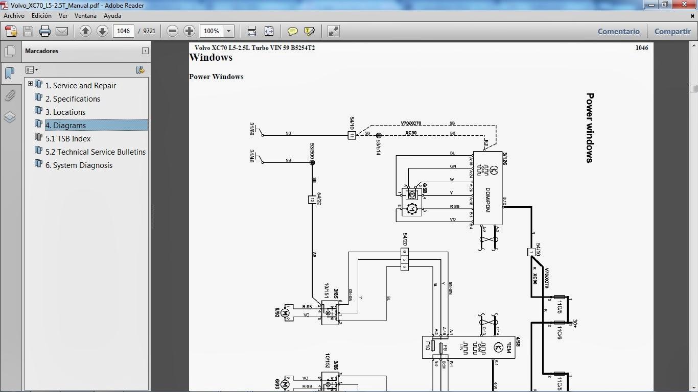 volvo xc70 repair manual pdf