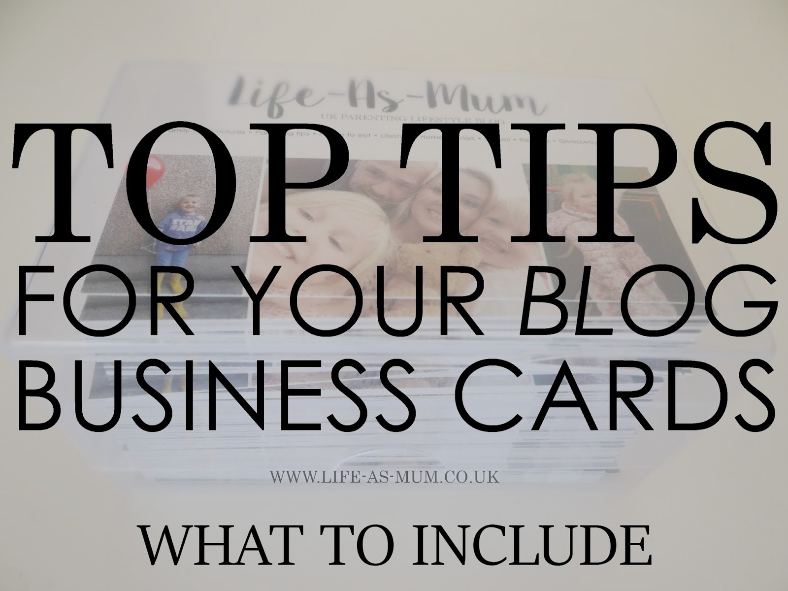 Top Tips For Your Blog Business Cards - What To Include | Review ...