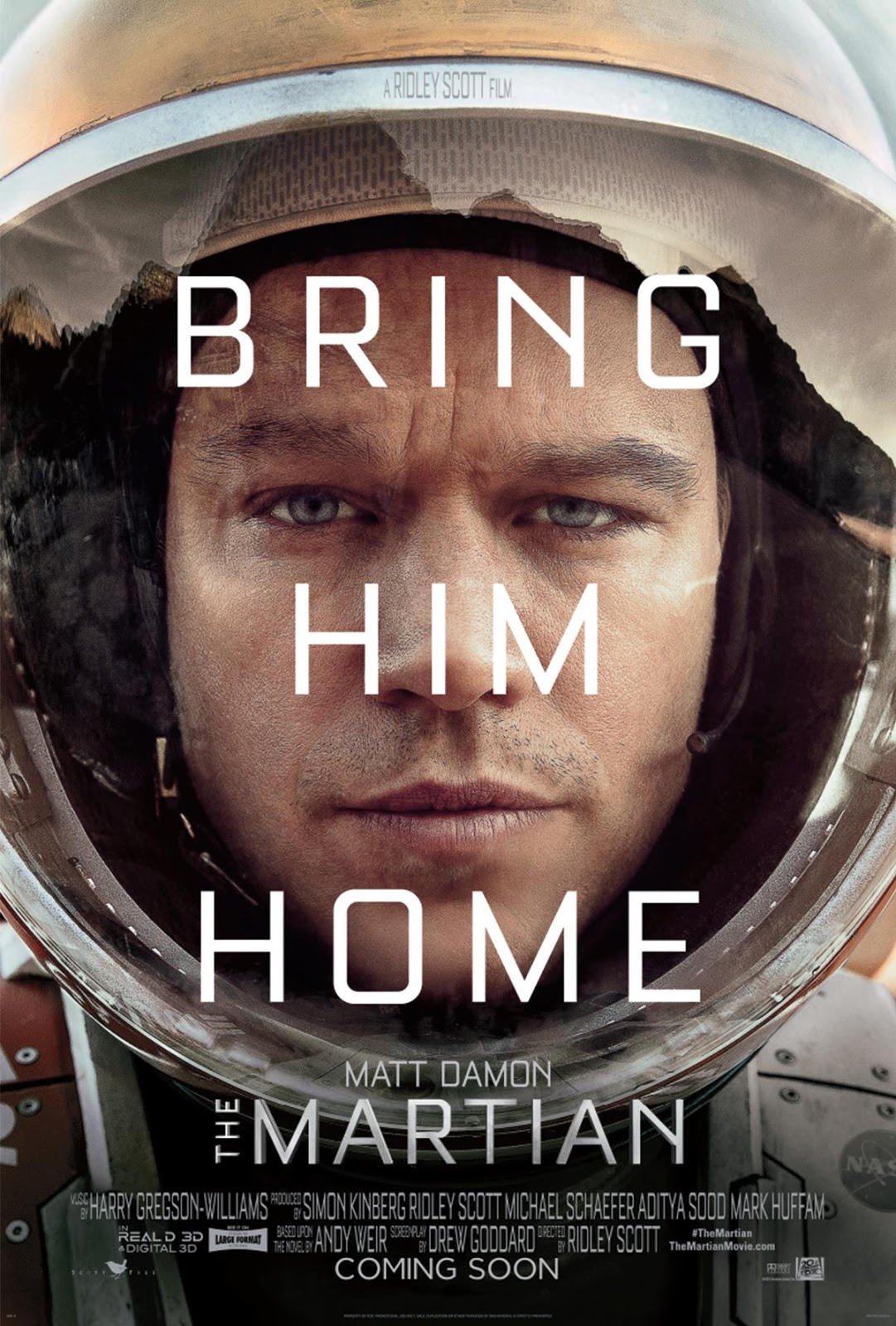 The Martian #BringHimHome