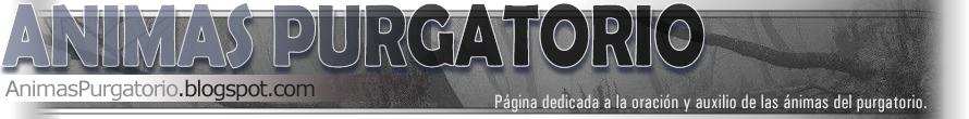 Animas purgatorio
