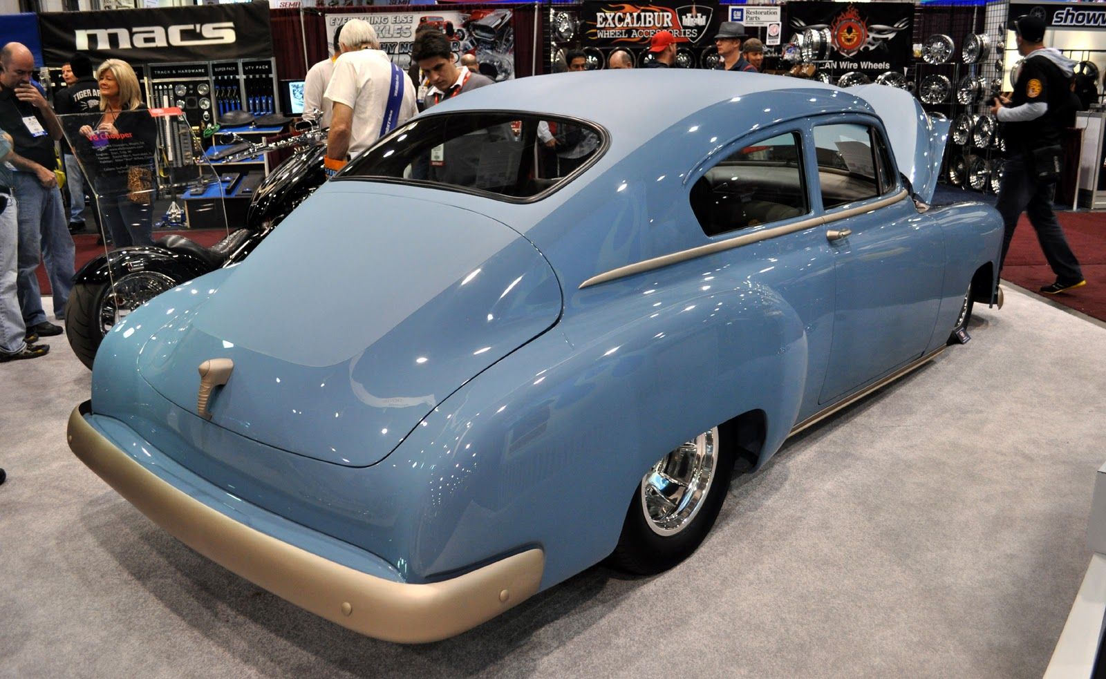 Just A Car Guy: the 1950 Fleetline Custom of Strange Motion of ...