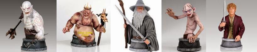 figuras busto EL hobbit