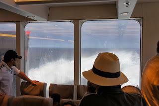 A bordo del Francisco