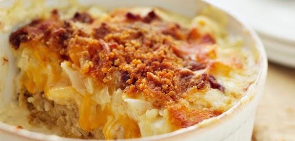 Gina's Italian Kitchen: Scalloped and Mashed Potato Gratin