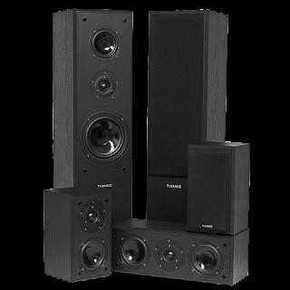 Fluance Surround Sound Home Theater 5 Speaker System