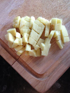 Cutted ginger