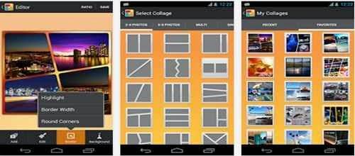 Aplikasi kolase foto Android