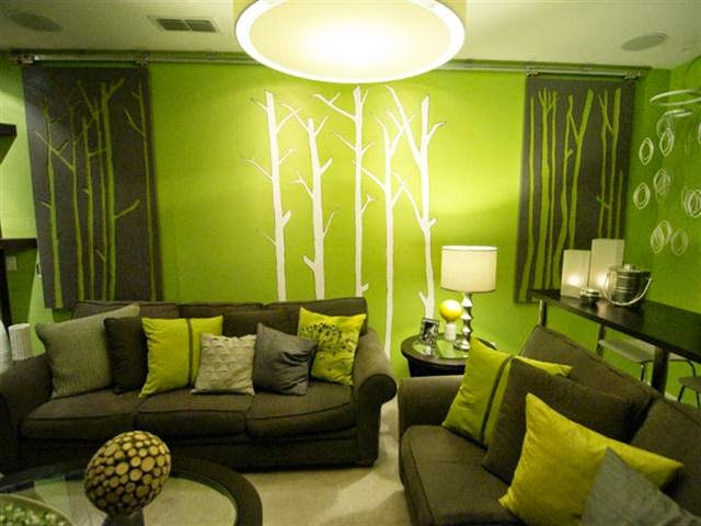 wall paint colors light green