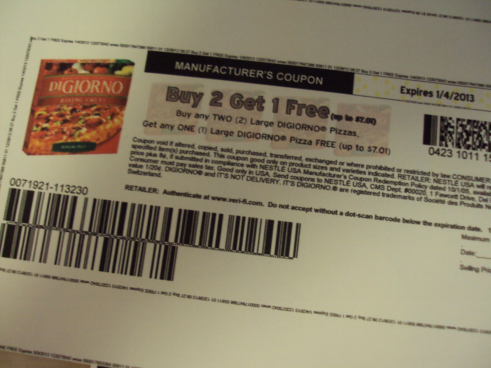 Digiorno cheese printable coupons