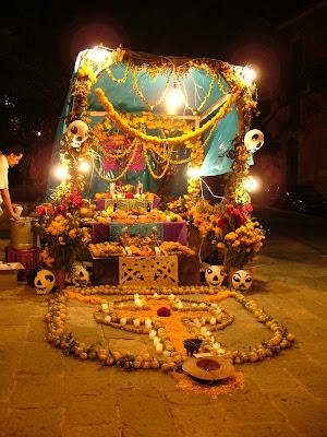 Como elaborar un altar de Muertos