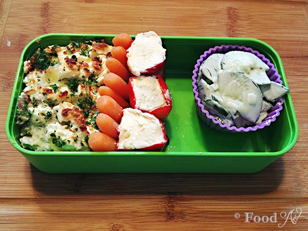 Mexicanisches Bento Tutorial Schritt 8 - Food Art