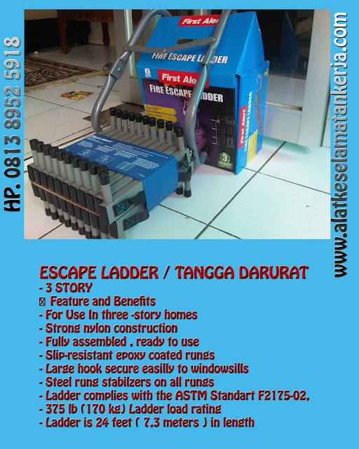 FIRE ESCAPE LADDER - TANGGA DARURAT 3 LANTAI