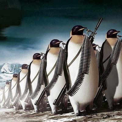 「やっぱりペンギンは敵だったでしょ?」