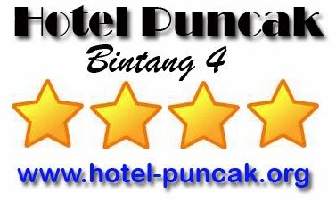 Hotel Bintang 4 di Puncak
