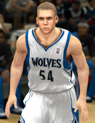 NBA 2K13 Greg Stiemsma Cyberface Patch