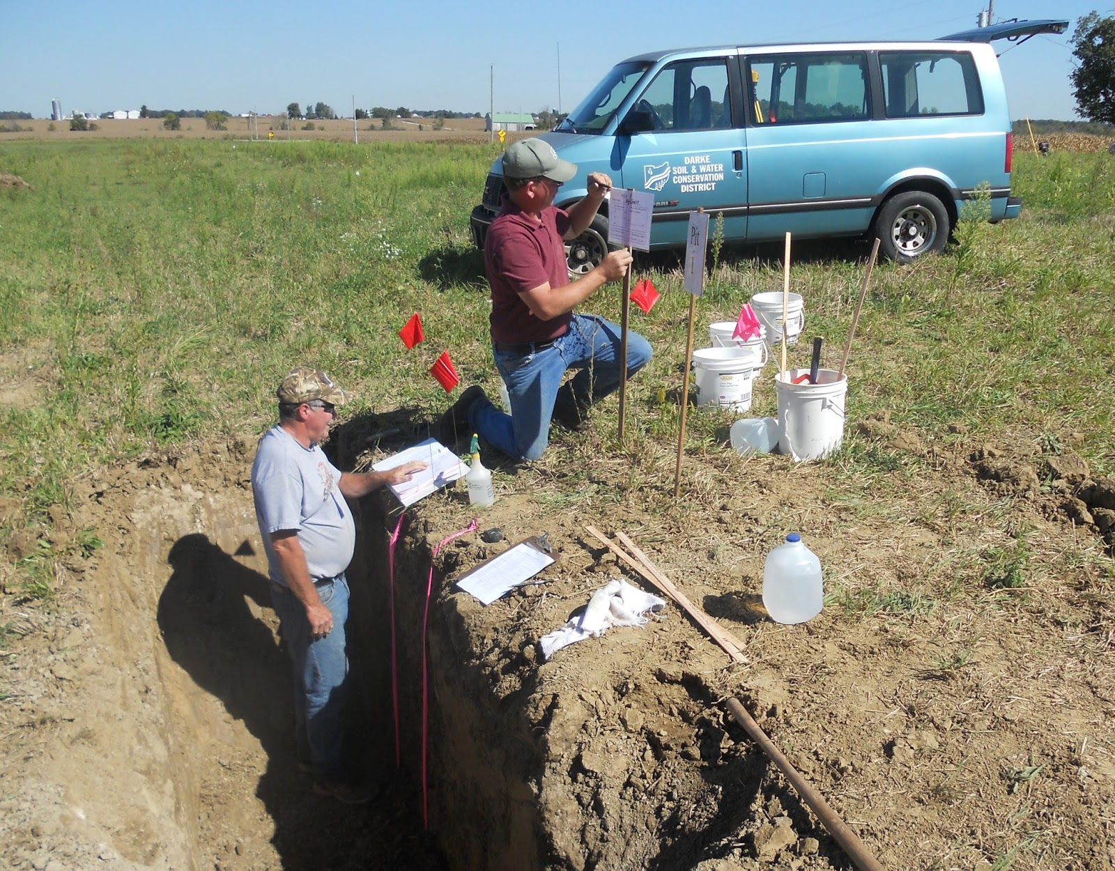 County ffa land judging contest held in for Soil judging