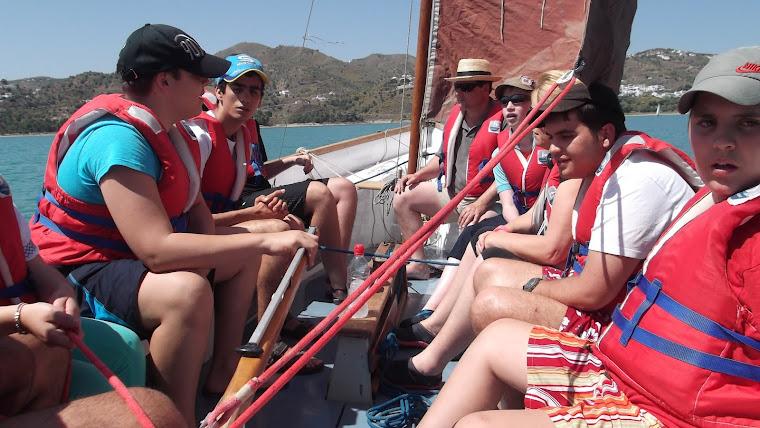 Navegando con la buena gente de Antequera