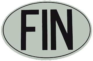 fin sign