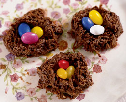 Dying for Chocolate: Chocolate Humming Bird Nests for Easter & Earth ...