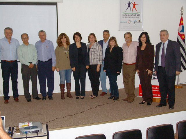 Lançamento Indaiatuba Faz Empreendedorismo - 05/2009