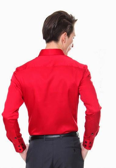 Men s usa men 39 s dress shirts a way to wear a red dress for Gray dress shirt black pants