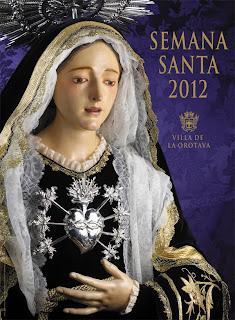 Cartel de Semana Santa de La Orotava 2012