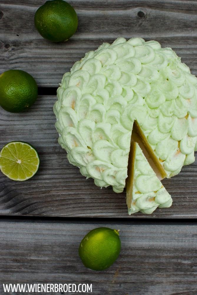Caipirinha-Torte / Caipirinha cake [wienerbroed.com]