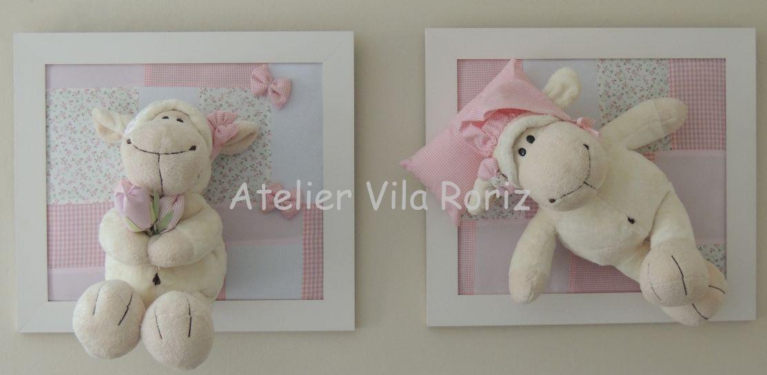 Atelier Vila Roriz Decoração Quartos Bebê Ovelhas!!!