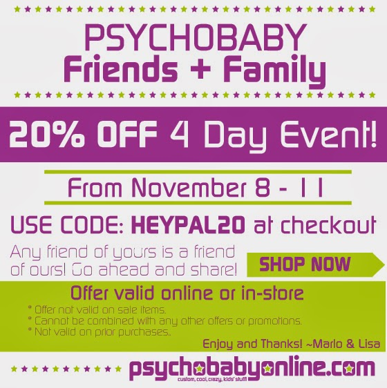 Friends & Family 4 Day Savings Event!