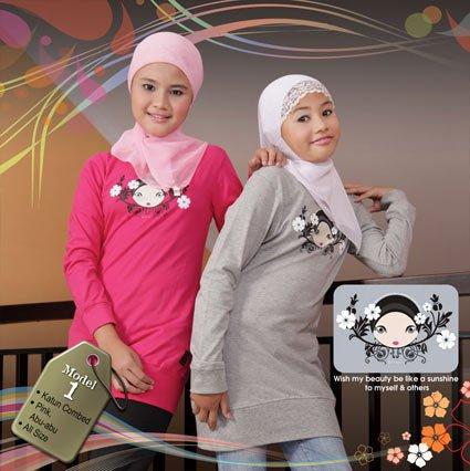 Baju muslim anak - Qt01
