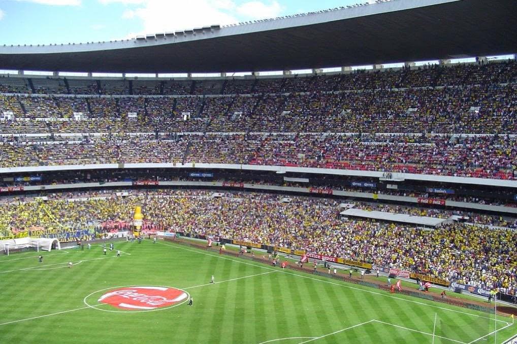 Est dio azteca na cidade do m xico dicas das am ricas for Puerta 1 estadio azteca