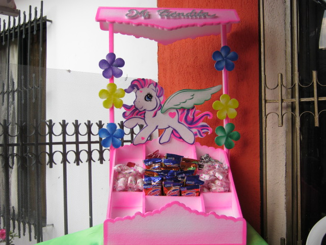 Decoracion Para Fiestas Infantiles De My Little Pony