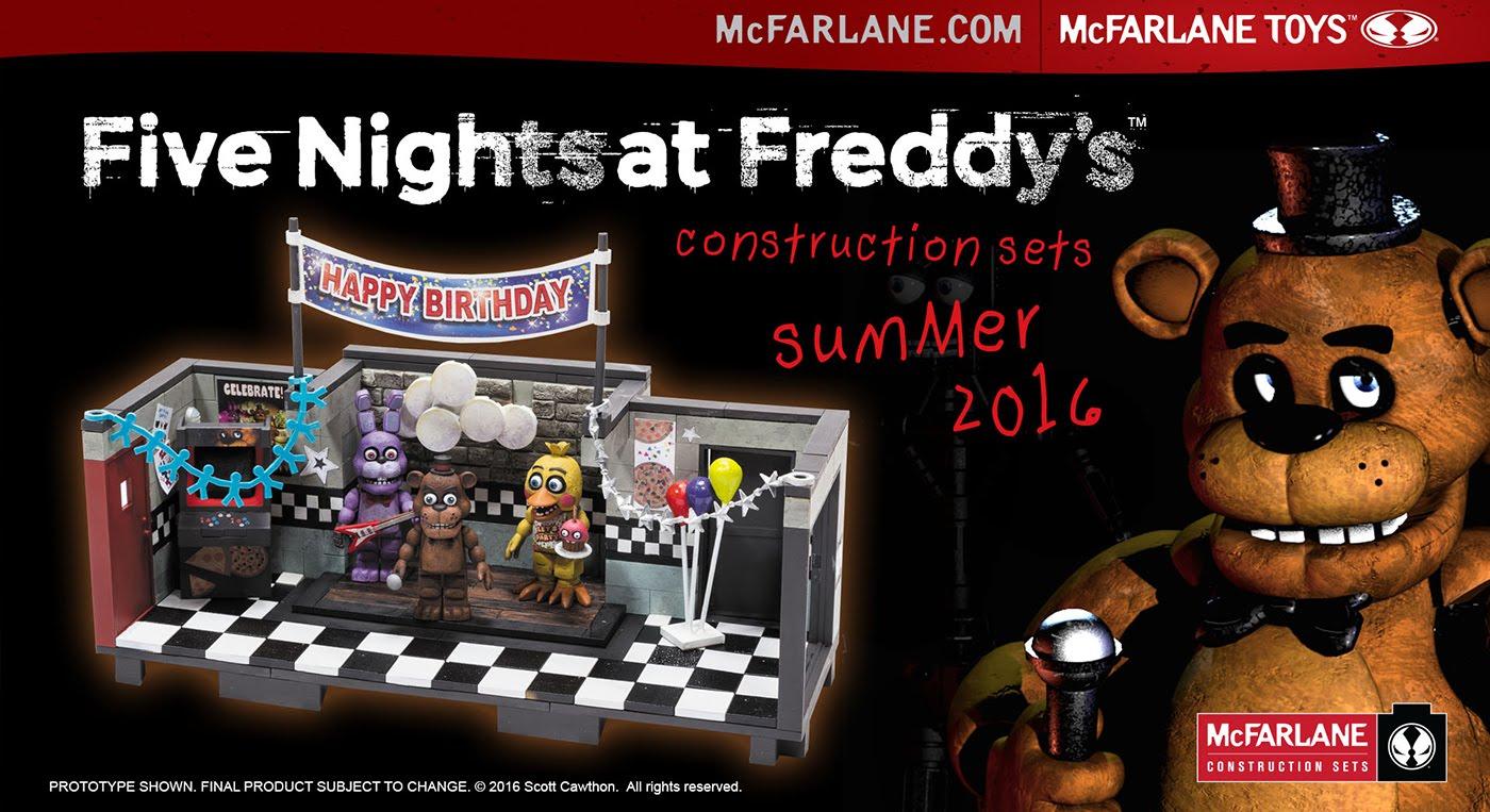 Lego 5 Nights At Freddy S Toys : Mcfarlane fnaf legos