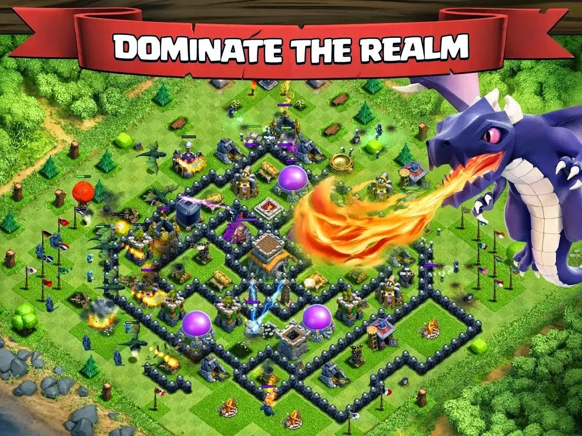 Clash of  Clans 6.253.5 Plus Mod Apk