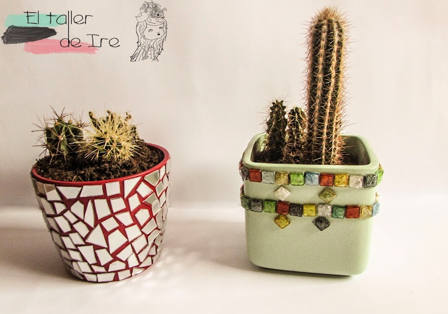 7 ideas para decorar tus macetas manualidades for Ideas de decoracion reciclando