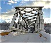 Quick B.C. 1921 Historic Bridge