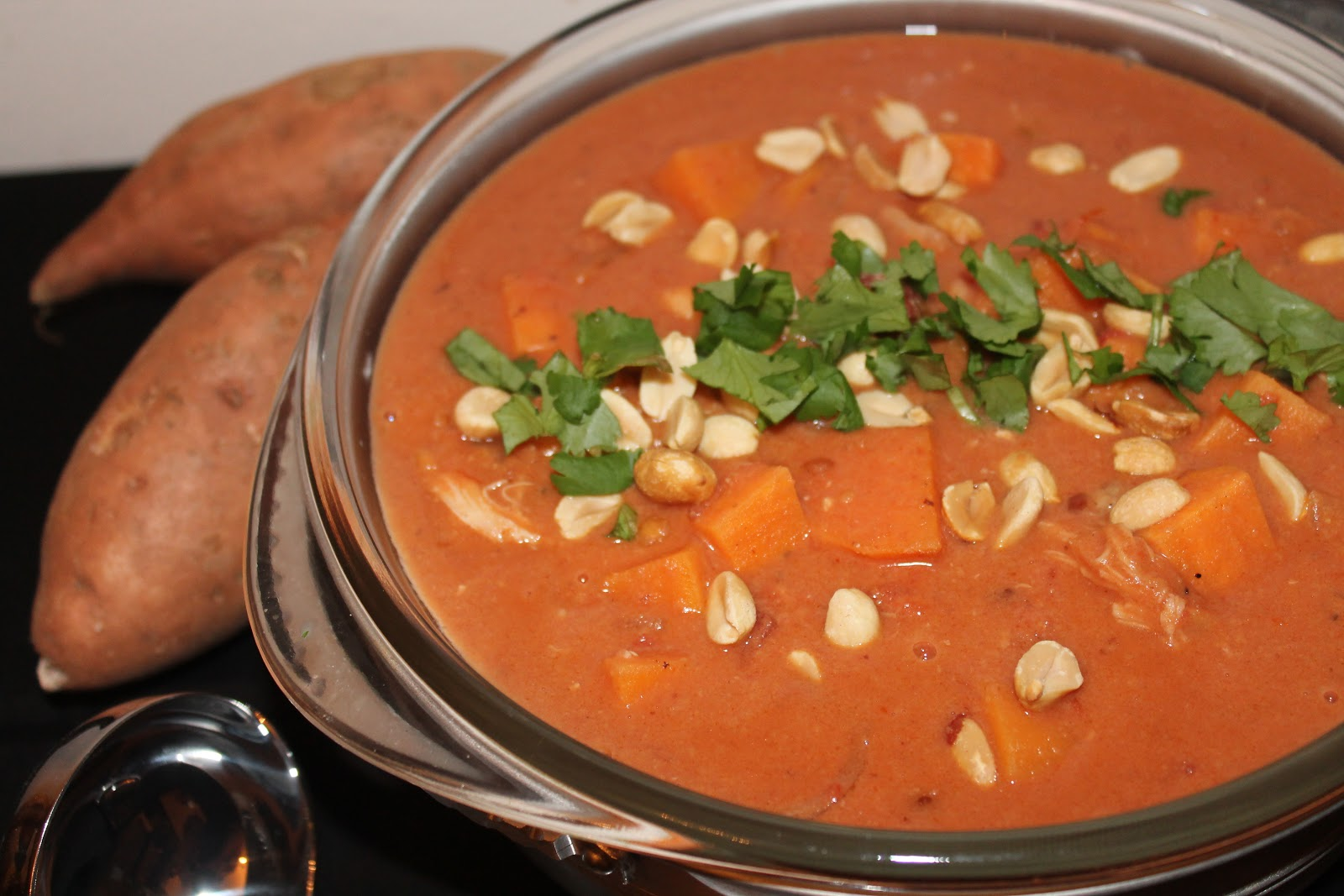 Savory Moments: West African chicken and peanut stew