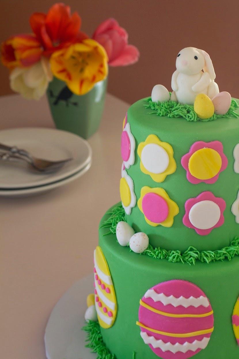 Sweet Bottom Cakes Easter Themed Birthday Cake