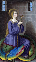 ST. MARGARET OF ANTIOCH, Valiant champion of  FAITH