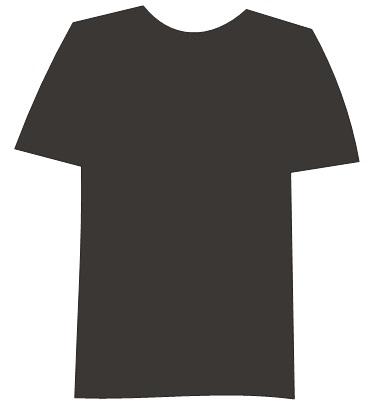 beri kaos dengan warna hitam yang tidak terlaluhitam pekat (90 % ...