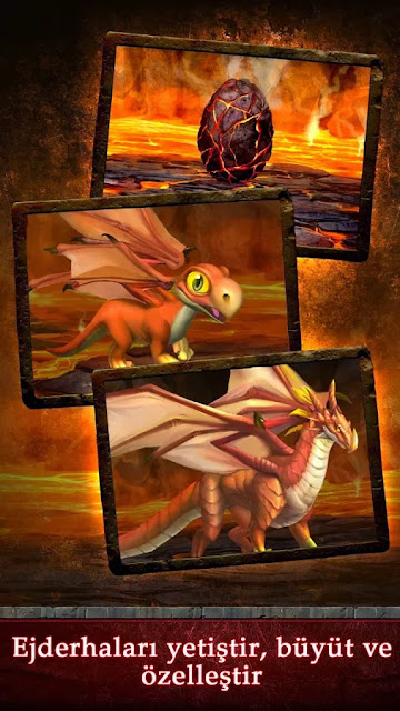 Android Dragons of Atlantis Apk resimi 6