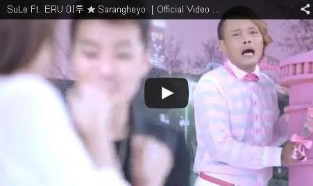 Video dan Lirik Lagu Sarangheyo - Sule Ft. Eru (Artis Korea)
