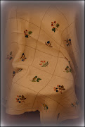 tablecloth crosstitched many years ago.