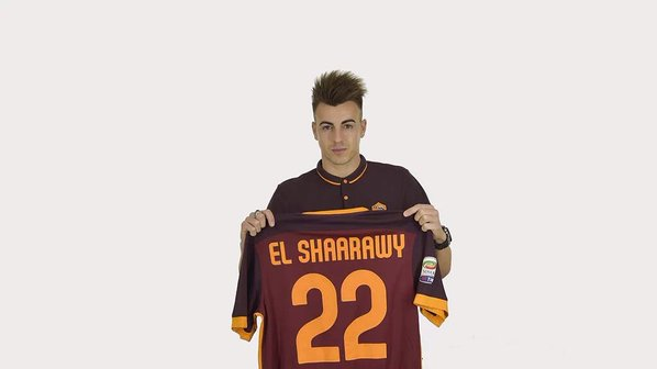 Stephan El Shaarawy | AS Roma [image by @OfficialASRoma]